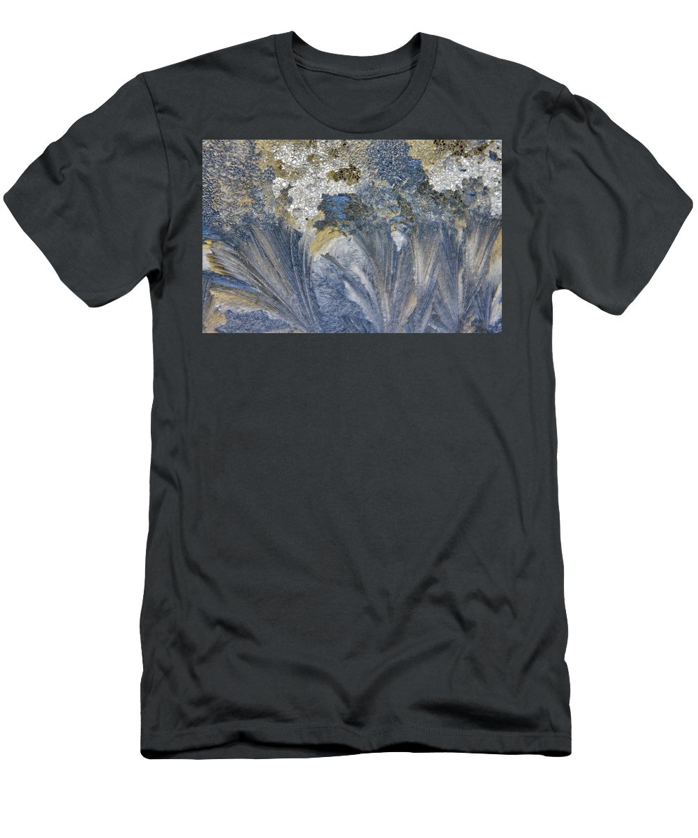 Extreme Men's T-Shirt (Athletic Fit) featuring the photograph Extreme Frost by Brian Kenney