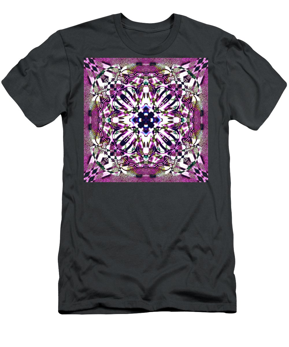 Abstract Men's T-Shirt (Athletic Fit) featuring the digital art Fabex by Blind Ape Art