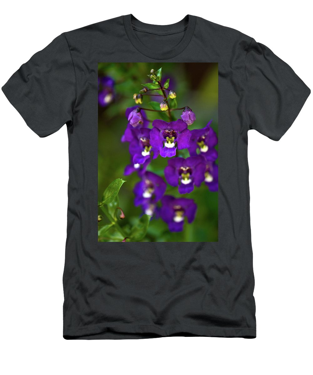 Flowers Men's T-Shirt (Athletic Fit) featuring the photograph Faces by Paul Mangold