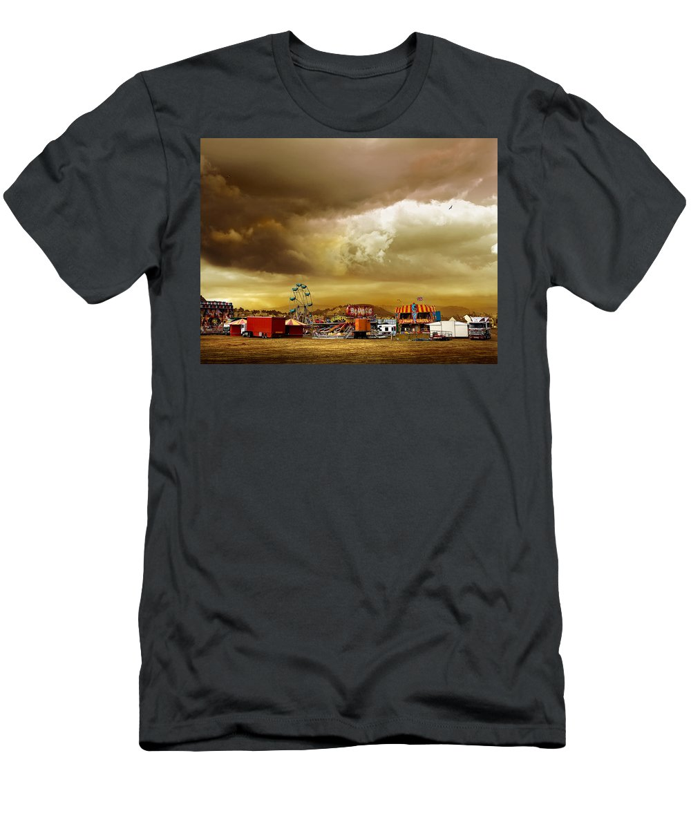 Fair Men's T-Shirt (Athletic Fit) featuring the photograph Fair Weather by Mal Bray