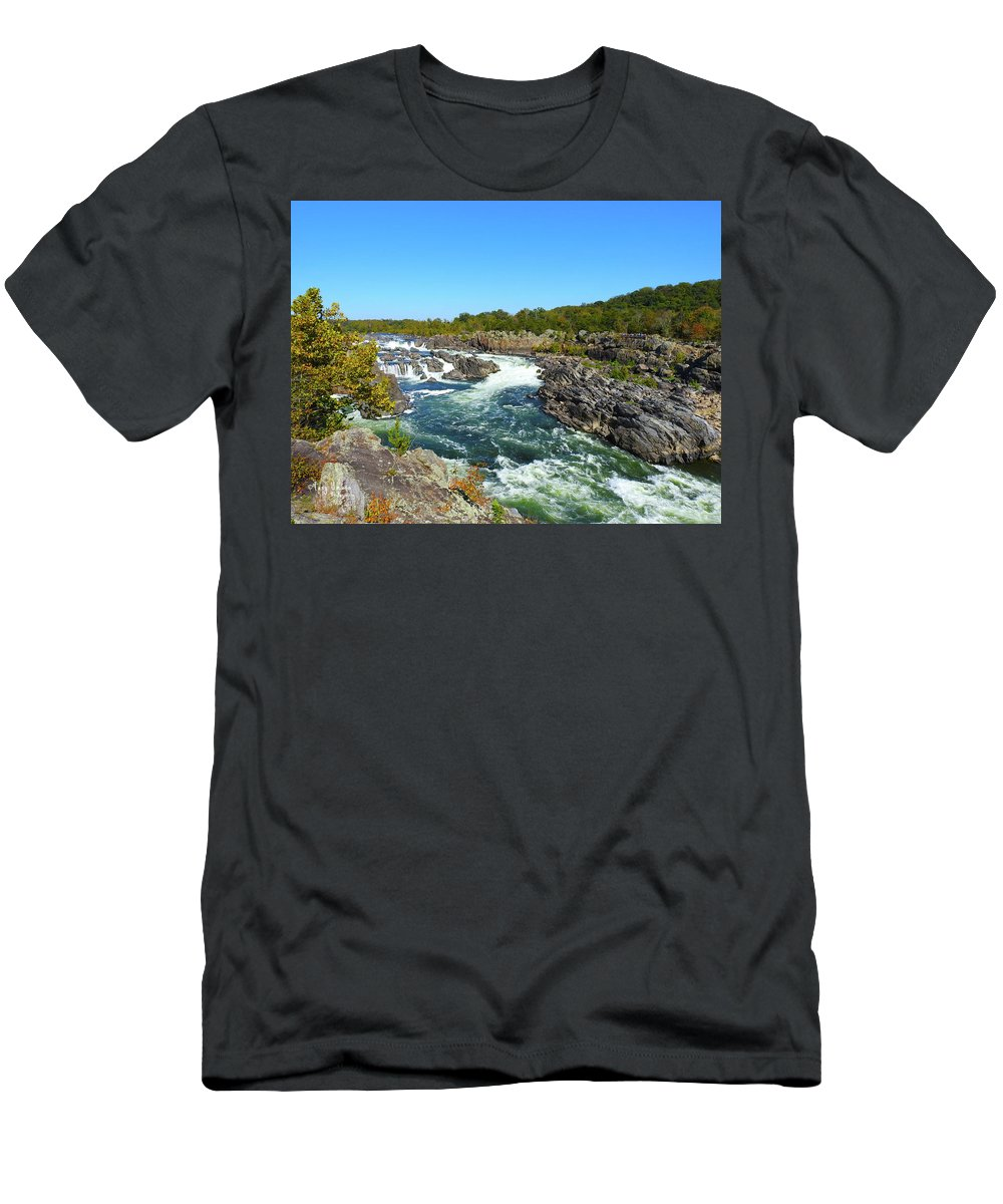 T-Shirt featuring the photograph Fall Colors by Tony Umana