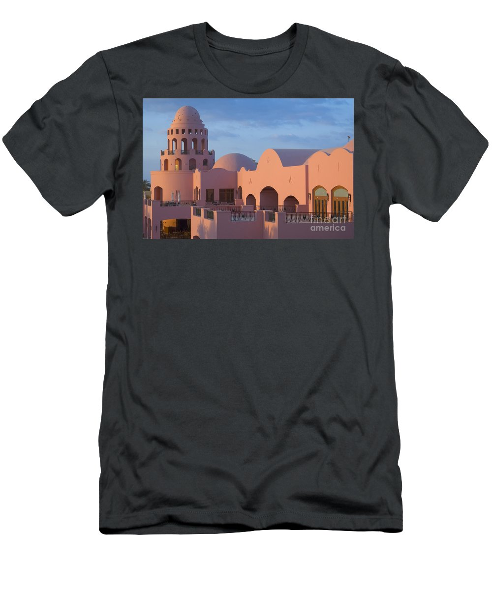 Culture Men's T-Shirt (Athletic Fit) featuring the photograph Fantasy Castle by Ilan Rosen