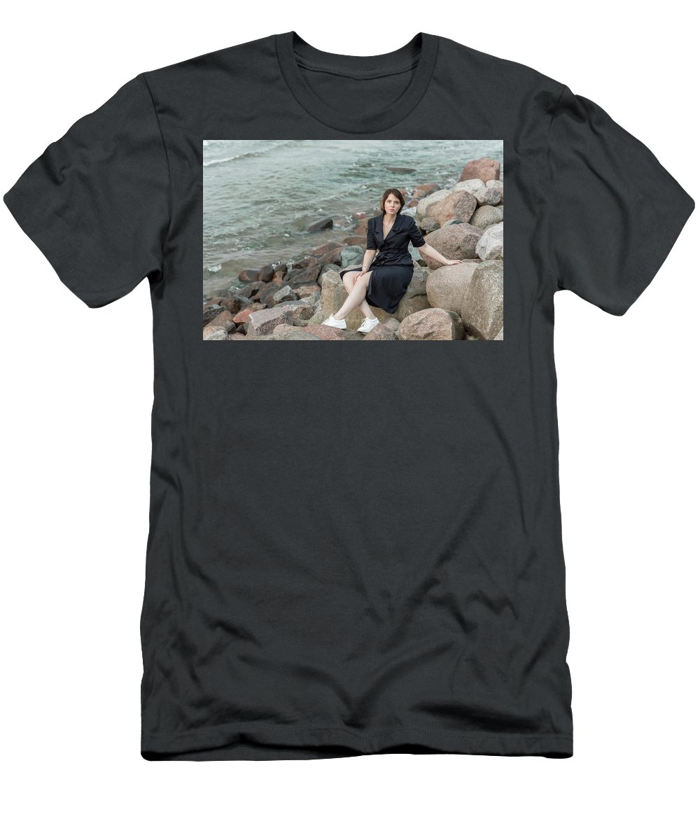 Beautiful Men's T-Shirt (Athletic Fit) featuring the photograph Fashion # 50 by Igor Smirnoff