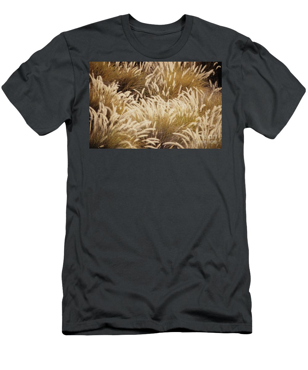 Beautiful Men's T-Shirt (Athletic Fit) featuring the photograph Field Of Feathers by Rita Ariyoshi - Printscapes