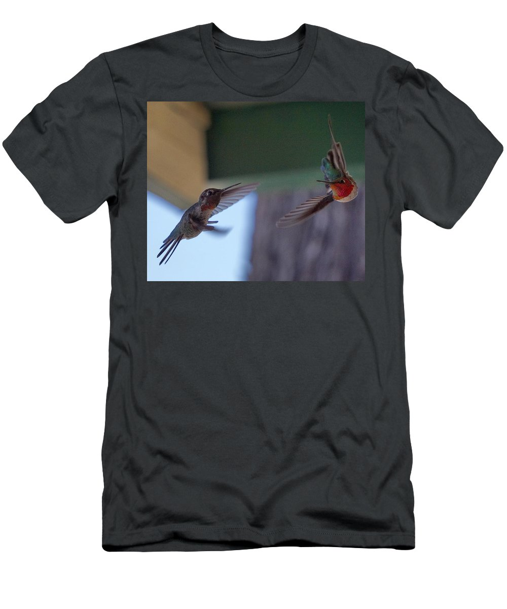 Men's T-Shirt (Athletic Fit) featuring the photograph Fighter Pilots by John Pierpont
