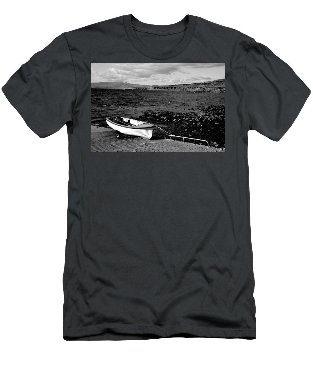Boat Men's T-Shirt (Athletic Fit) featuring the photograph Fishing Boat by Aidan Moran