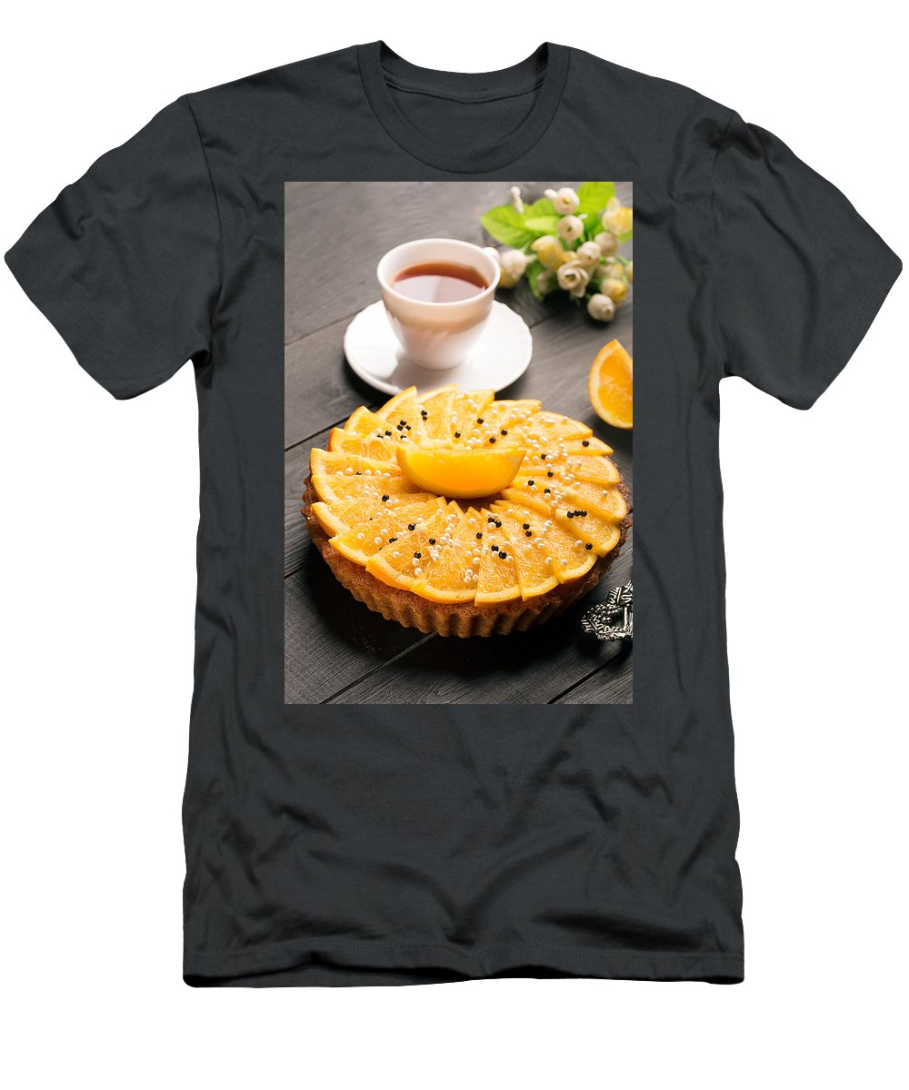 Vadim Goodwill Men's T-Shirt (Athletic Fit) featuring the photograph Five O'clock Tea by Vadim Goodwill