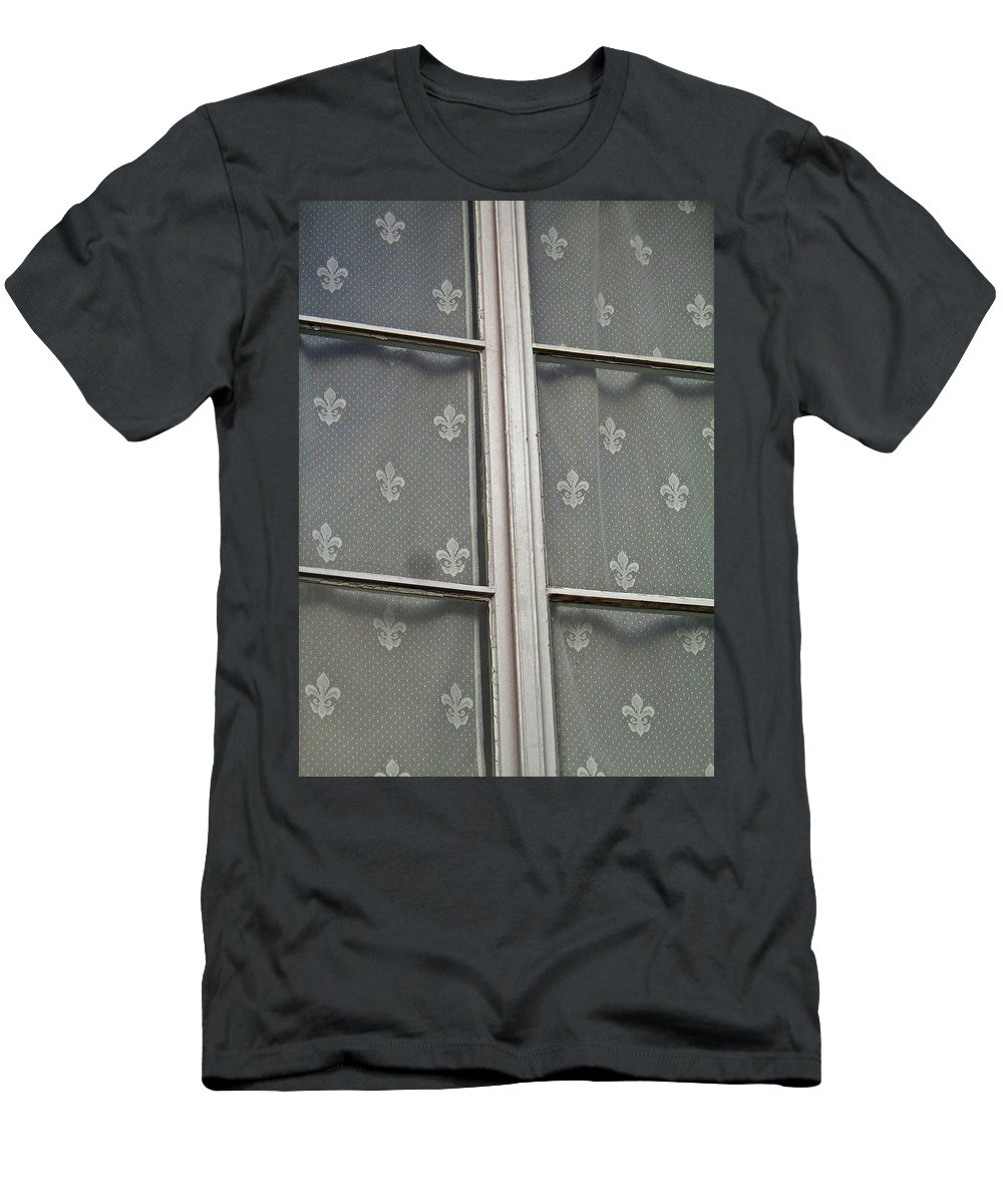 North America Men's T-Shirt (Athletic Fit) featuring the photograph Fleur-de-lis by Juergen Weiss