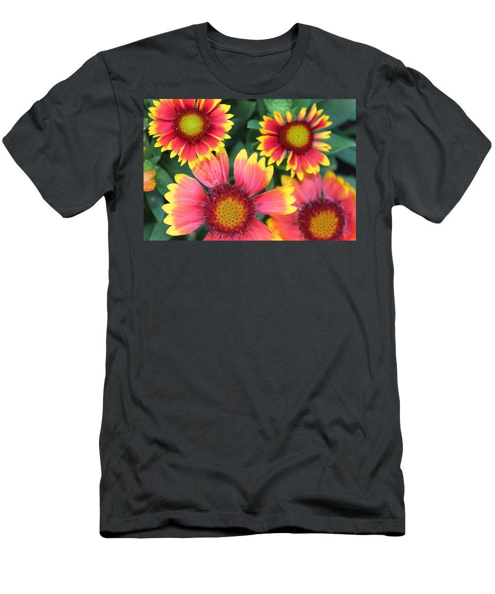 Flower Men's T-Shirt (Athletic Fit) featuring the photograph Flower Burst by Lauri Novak