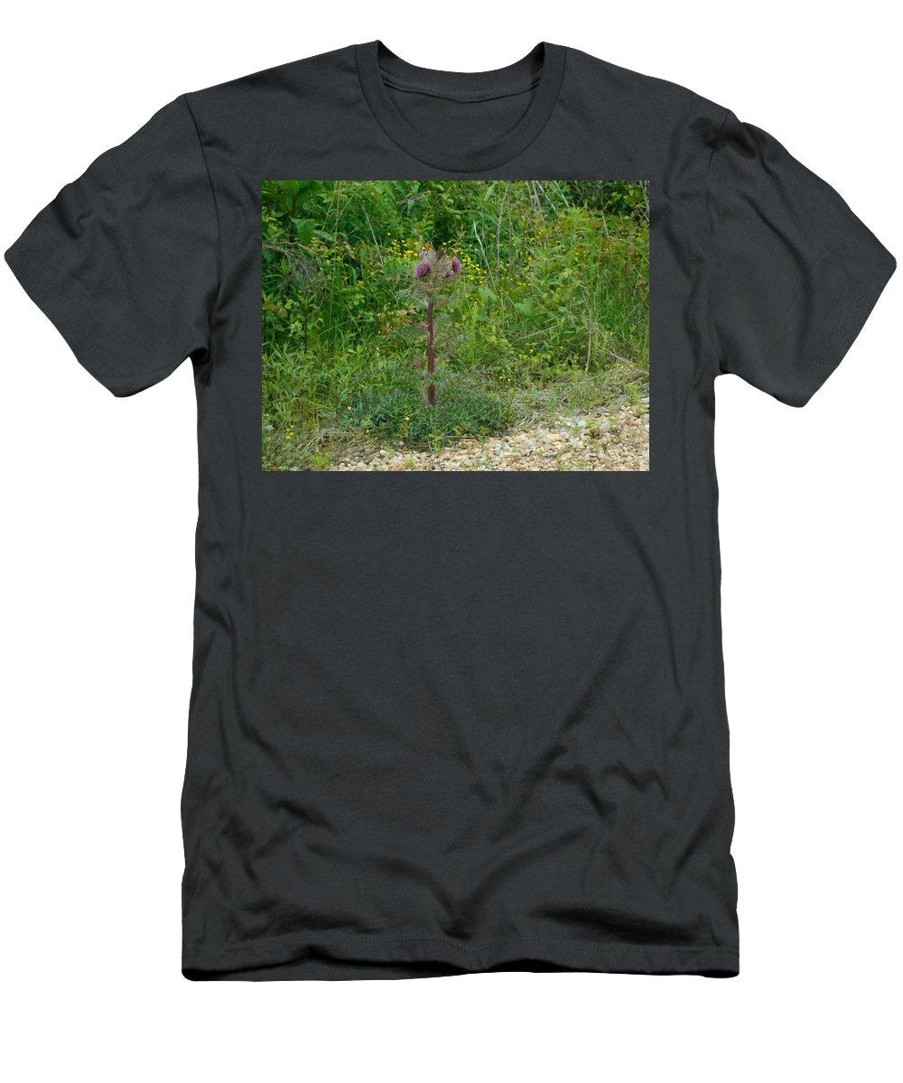 Flower Photograph00 Men's T-Shirt (Athletic Fit) featuring the photograph Flower Photograph00 by Catherine Lott