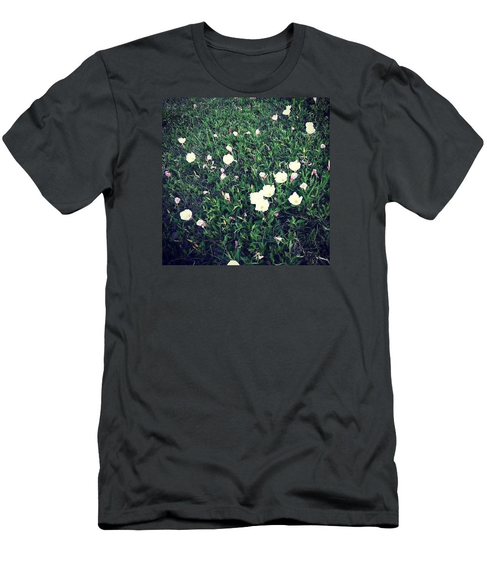 Flower Men's T-Shirt (Athletic Fit) featuring the photograph Flowers by Brandi Tye