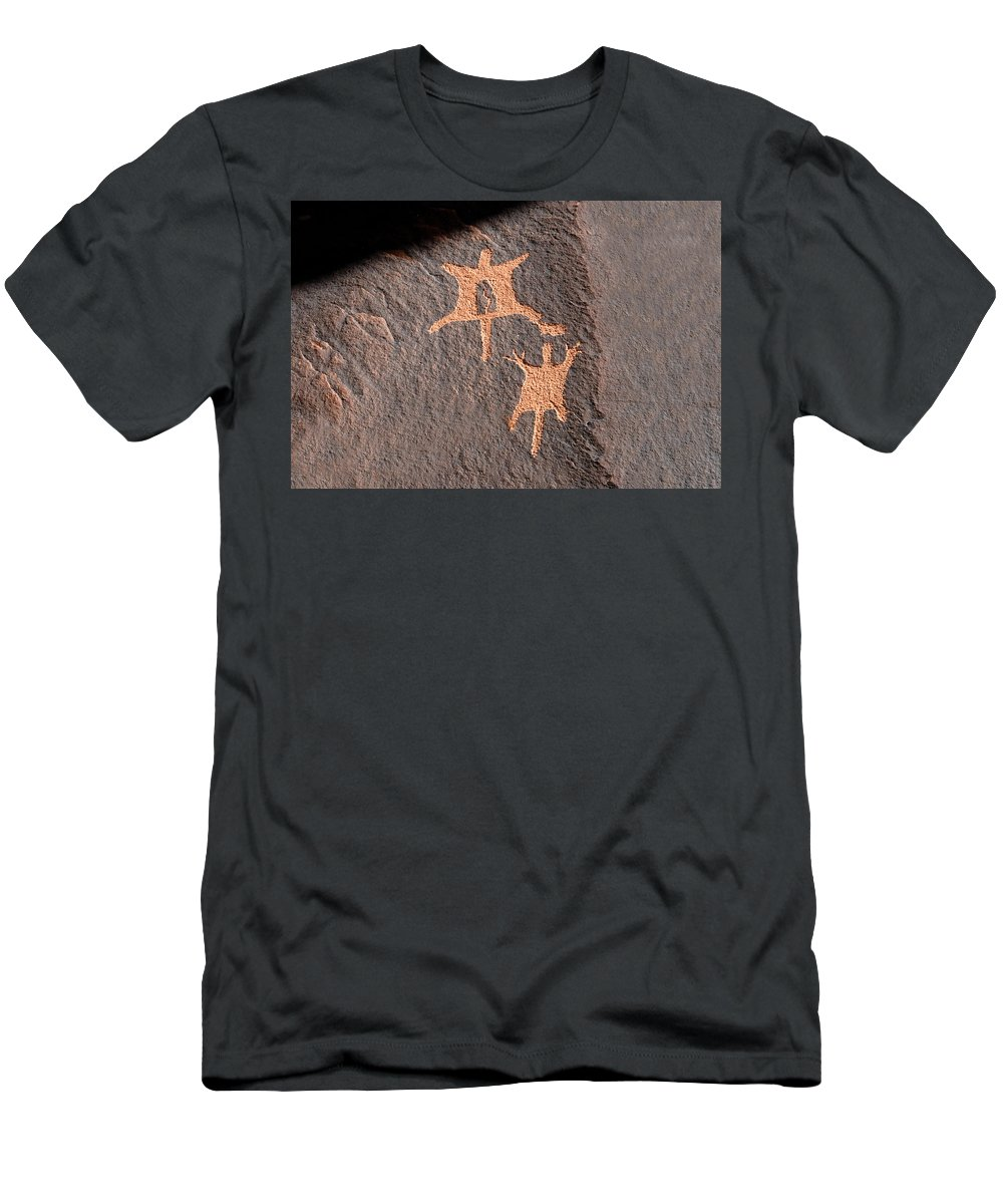Flying Squirrels Men's T-Shirt (Athletic Fit) featuring the photograph Flying Squirrels by David Lee Thompson