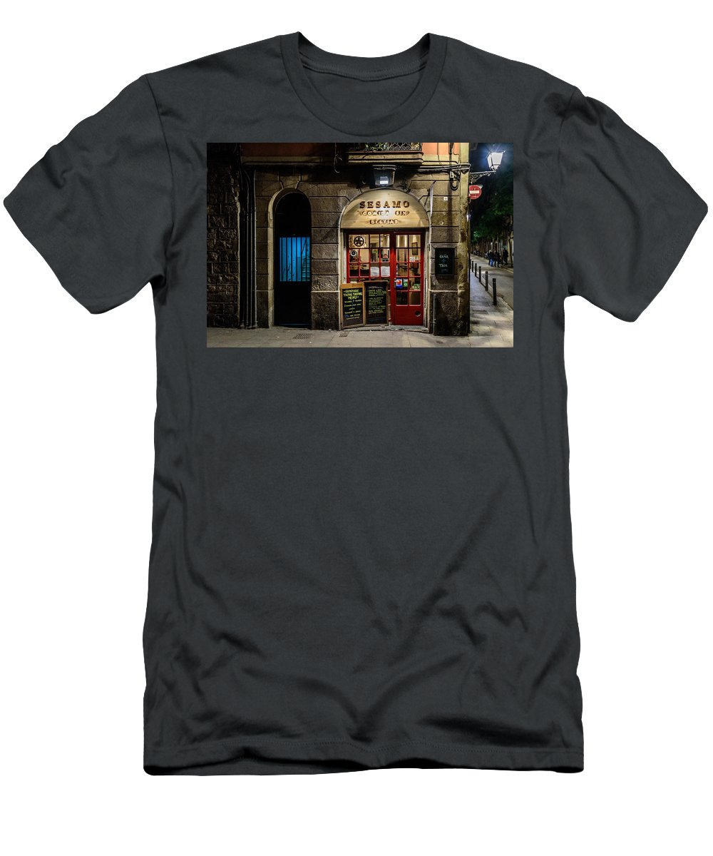 2016 Men's T-Shirt (Athletic Fit) featuring the photograph Food Without Beasts by Randy Scherkenbach