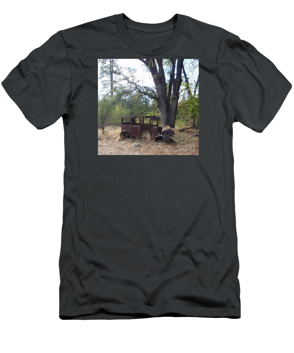 Ford Men's T-Shirt (Athletic Fit) featuring the photograph Ford Model A by Mary Deal