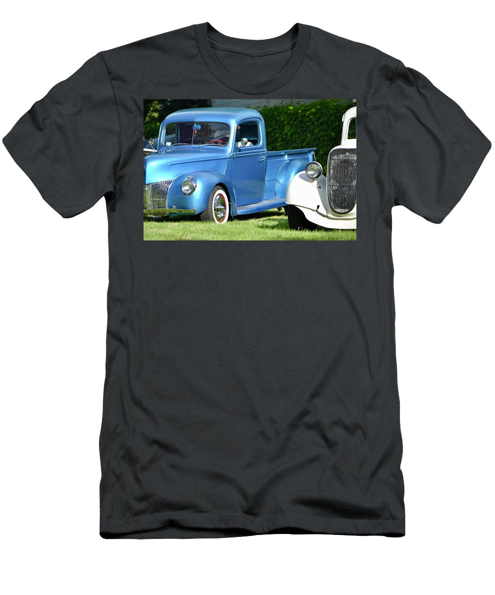 Men's T-Shirt (Athletic Fit) featuring the photograph Ford Pickups by Dean Ferreira