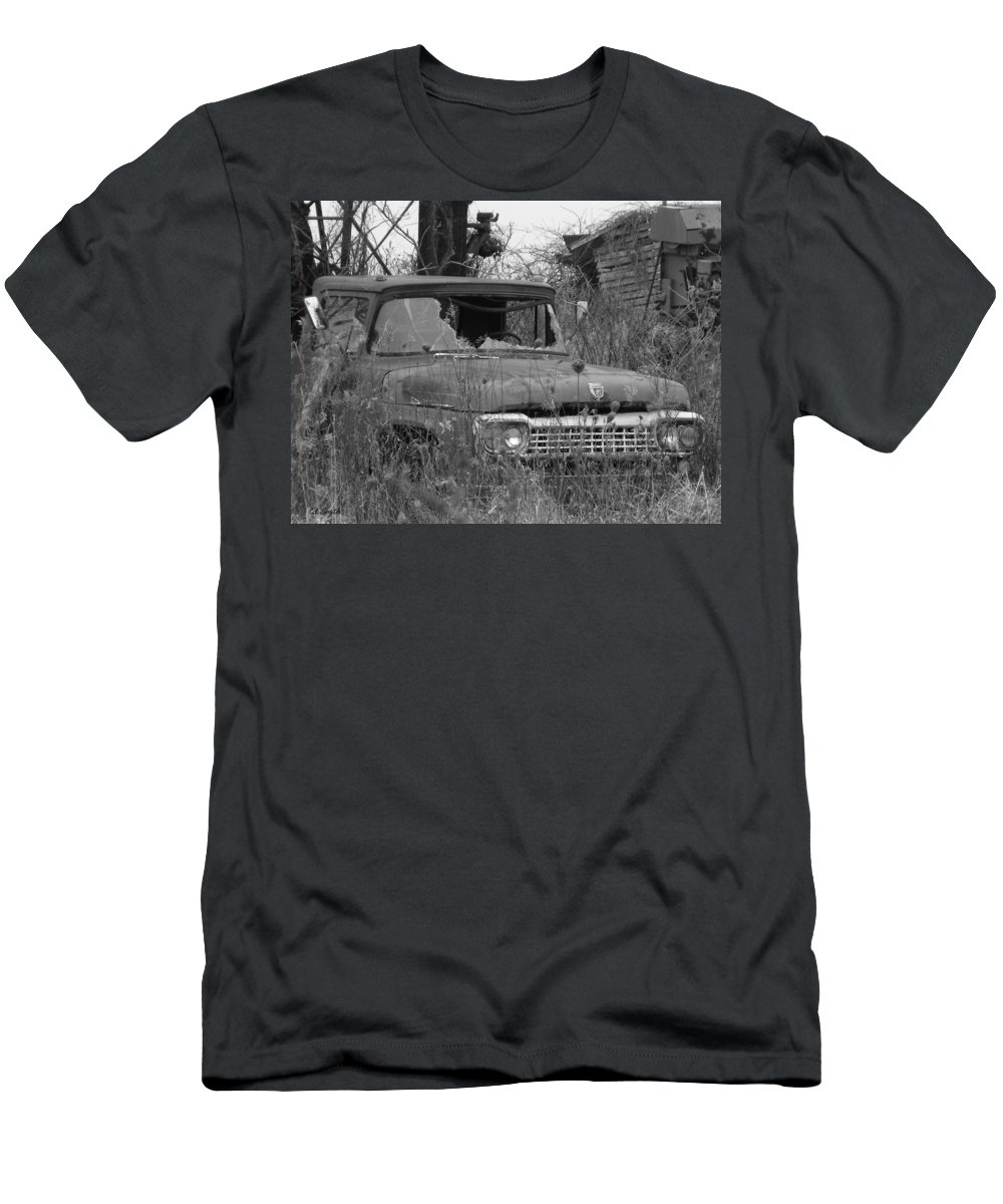 Ford Tough Men's T-Shirt (Athletic Fit) featuring the photograph Ford Tough by Edward Smith