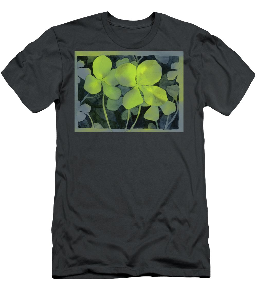 Leaf Pattern Paintings T-Shirts