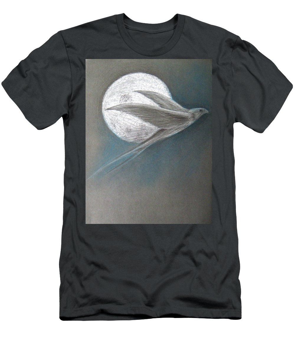 Shaun Men's T-Shirt (Athletic Fit) featuring the drawing Freedom by Shaun McNicholas