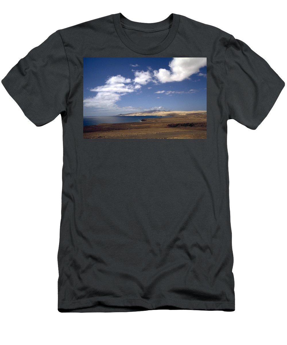 Fuerteventura Men's T-Shirt (Athletic Fit) featuring the photograph Fuerteventura II by Flavia Westerwelle