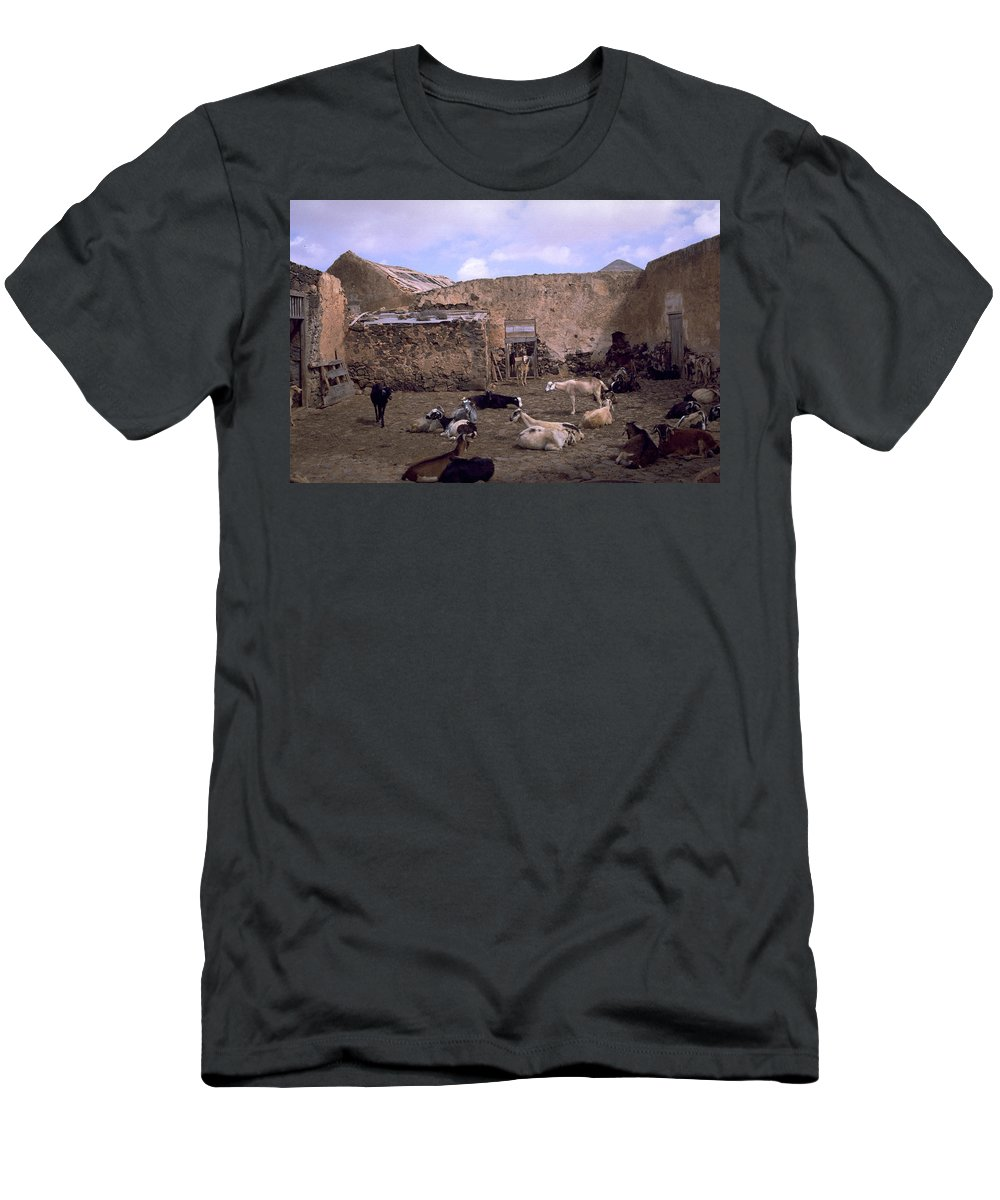 Fuerteventura Men's T-Shirt (Athletic Fit) featuring the photograph Fuerteventura IIi by Flavia Westerwelle