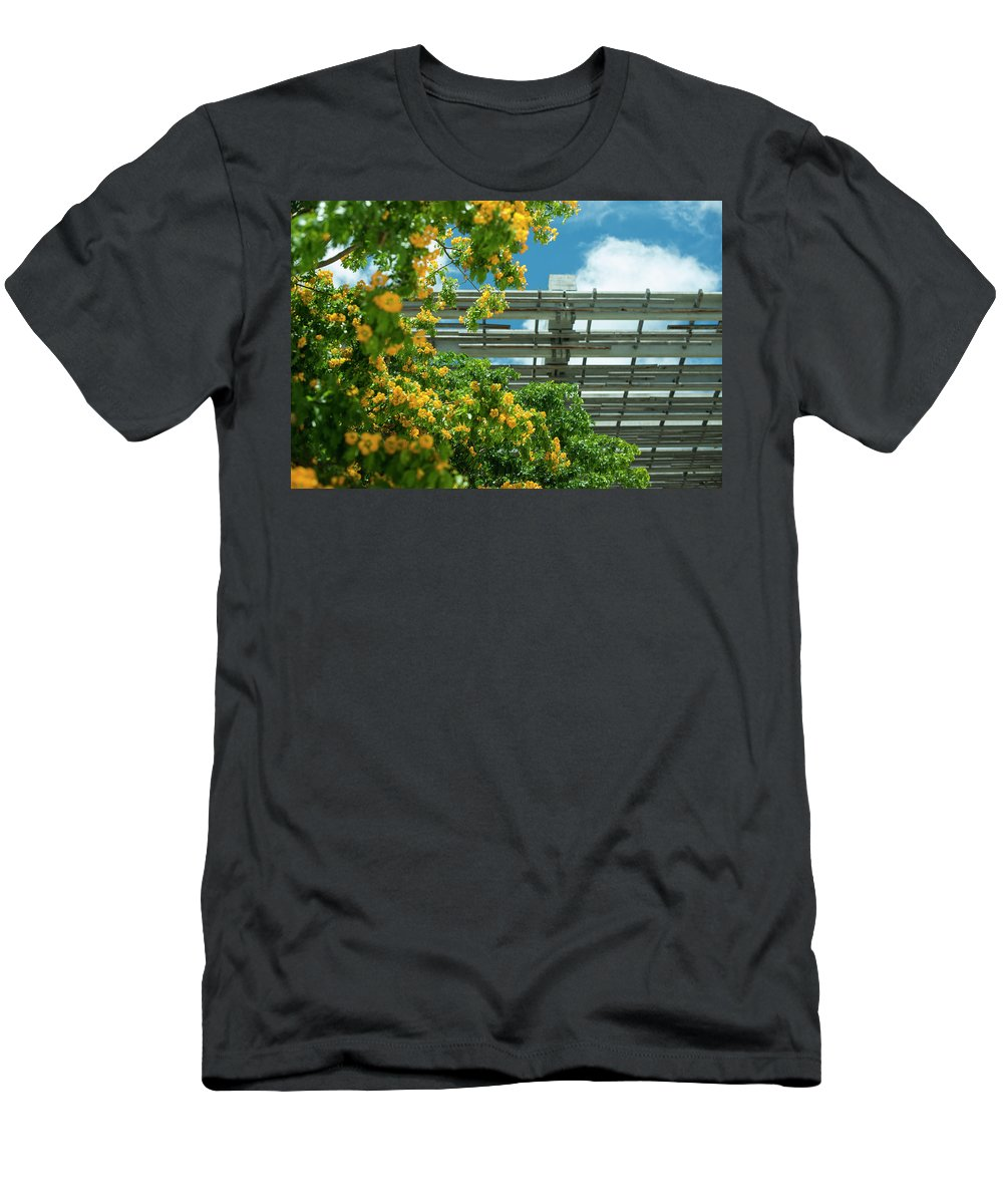 Flowers Men's T-Shirt (Athletic Fit) featuring the photograph Garden by Joey Rey