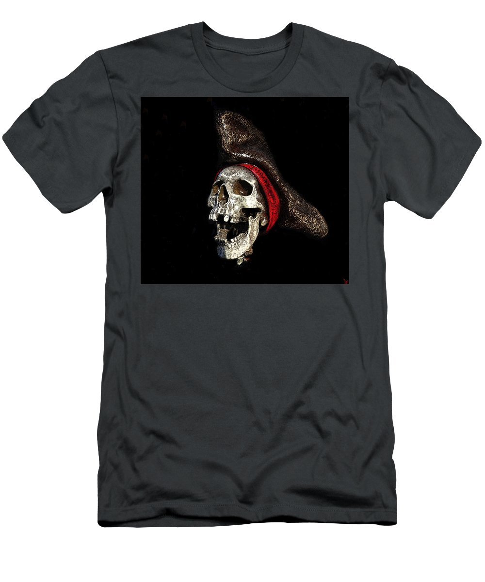 Art Men's T-Shirt (Athletic Fit) featuring the painting Gasparilla 2012 by David Lee Thompson