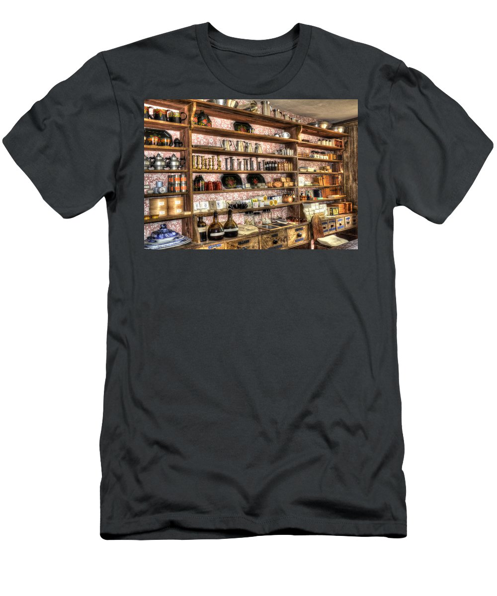 Store Men's T-Shirt (Athletic Fit) featuring the photograph General Store by Robert Nelson