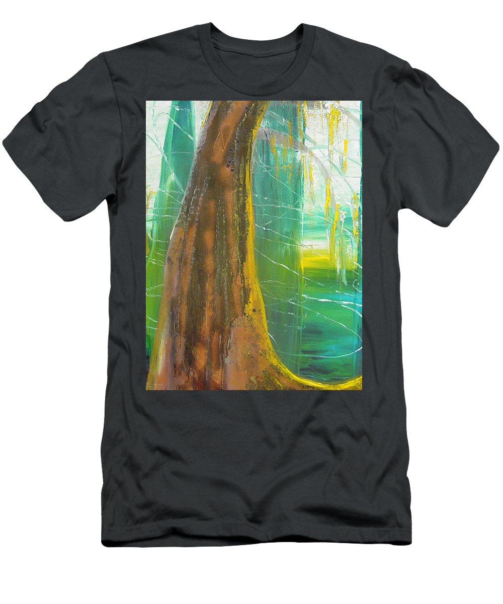 Landscape T-Shirt featuring the painting Georgia Morning by Peggy Blood