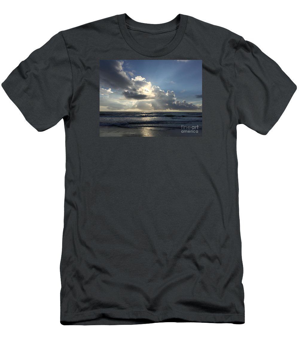 St. Augustine Men's T-Shirt (Athletic Fit) featuring the photograph Glory Day by LeeAnn Kendall