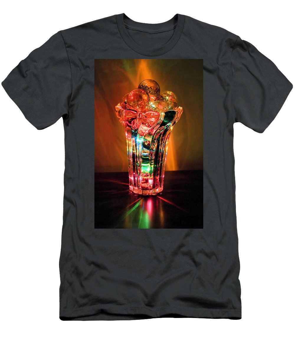 Glow Men's T-Shirt (Athletic Fit) featuring the photograph Glow by Kristin Elmquist