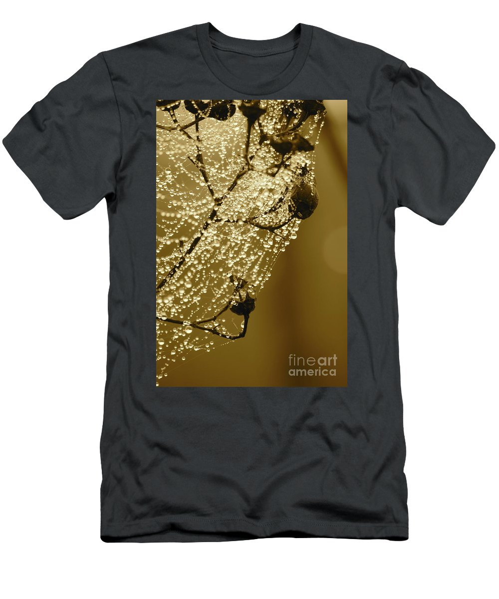 Men's T-Shirt (Athletic Fit) featuring the photograph Golden Globes by Carol Groenen