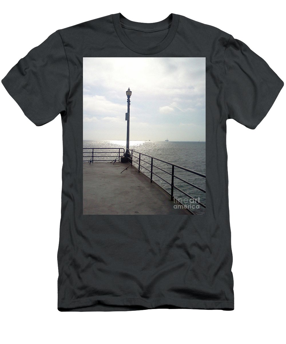 Gone Fishing Men's T-Shirt (Athletic Fit) featuring the photograph Gone Fishing by Harvey Carden