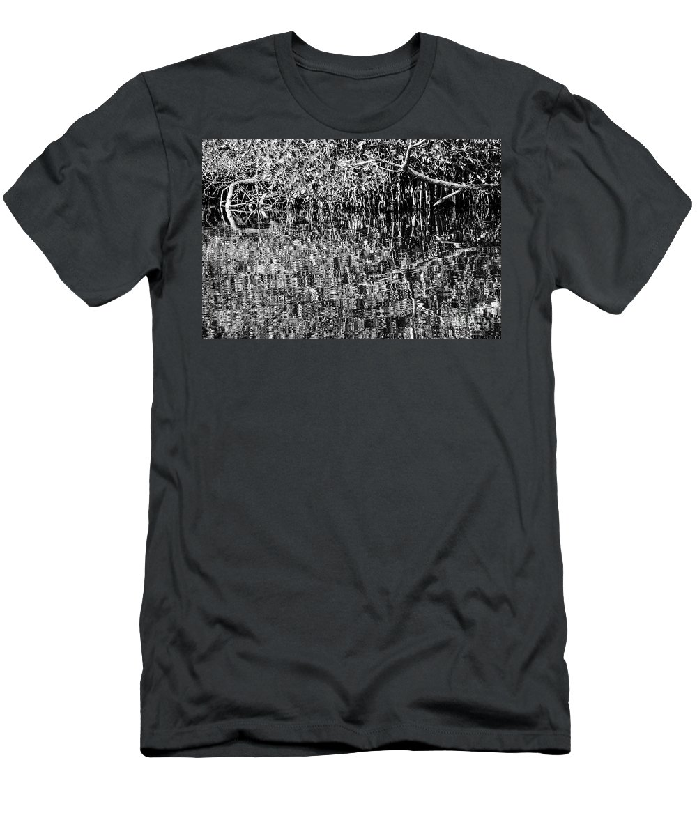 Naples Men's T-Shirt (Athletic Fit) featuring the photograph Gordon River Reflections Two 2 by Bob Phillips