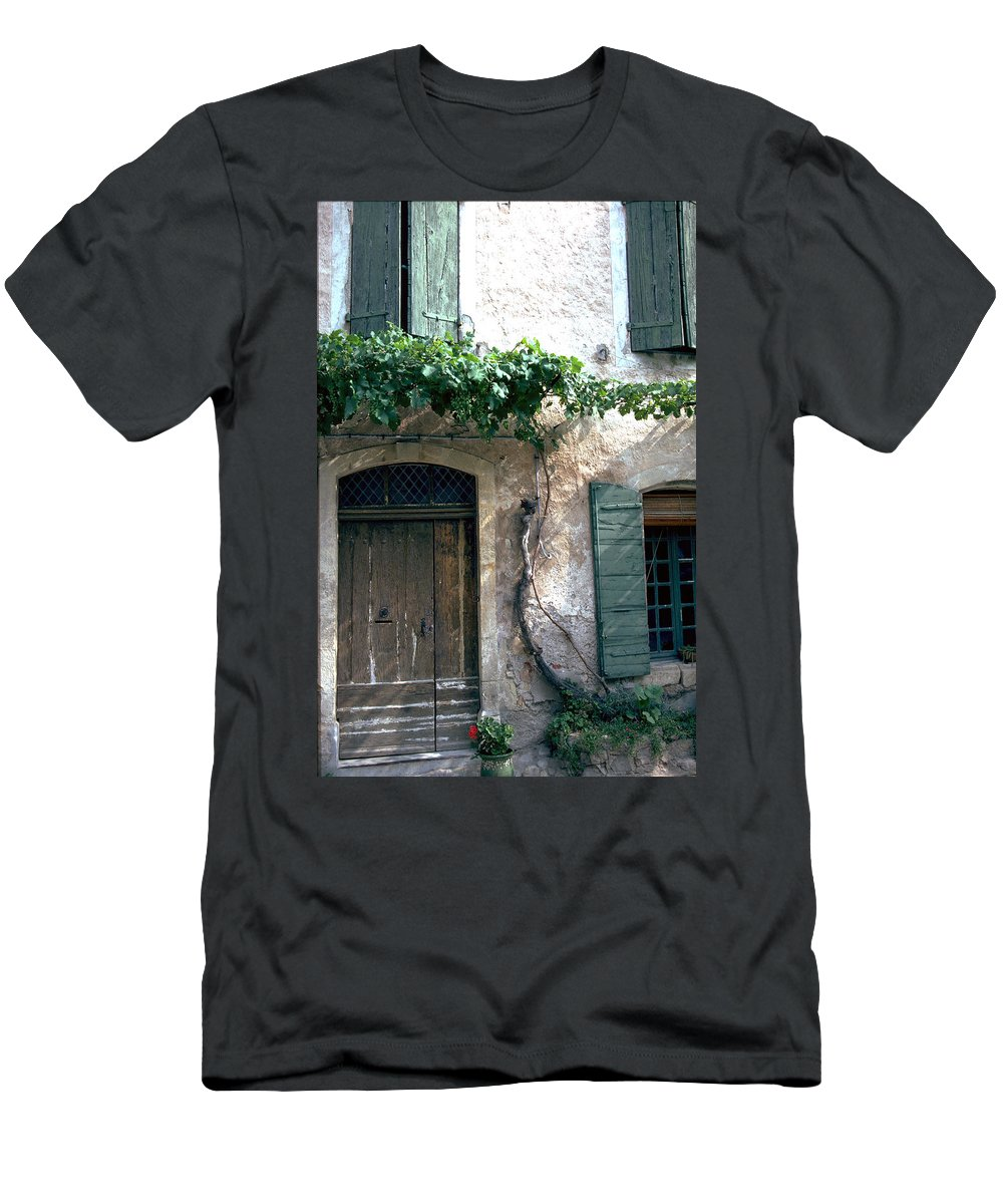 Grapevine Men's T-Shirt (Athletic Fit) featuring the photograph Grapevine by Flavia Westerwelle