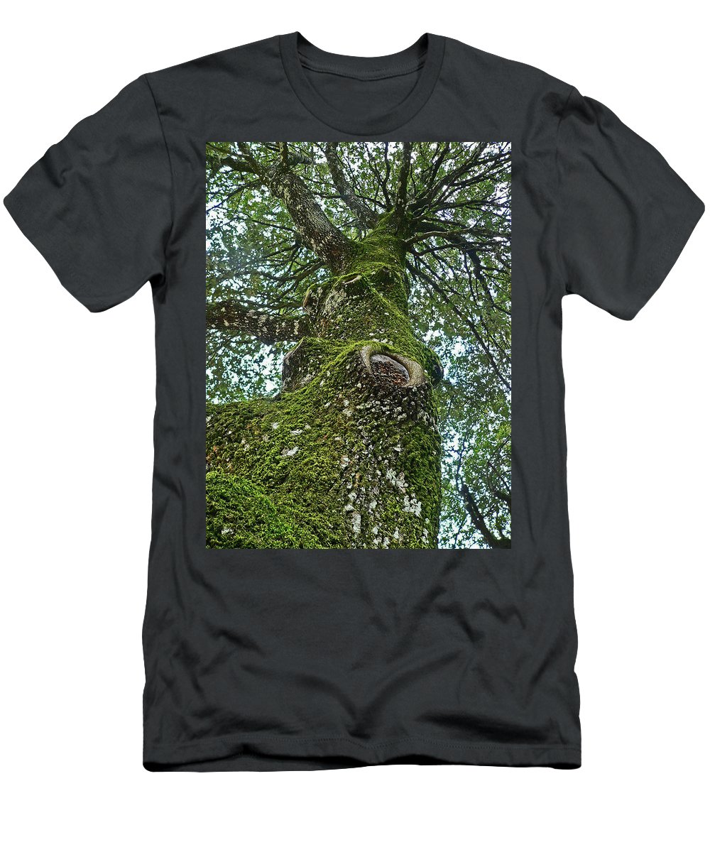 Men's T-Shirt (Athletic Fit) featuring the photograph Green Arms by Angela Wright