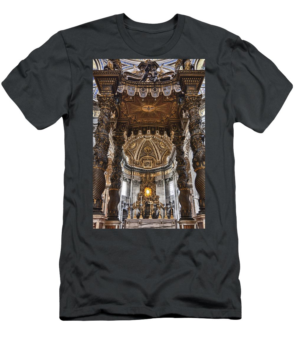 Italy Men's T-Shirt (Athletic Fit) featuring the photograph Hallowed Beauty by Janet Fikar