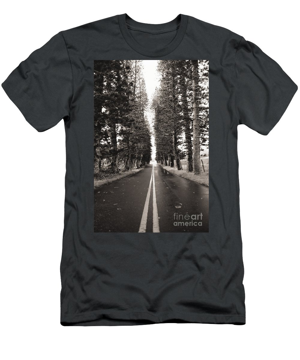 Afternoon Men's T-Shirt (Athletic Fit) featuring the photograph Hana Highway by Dana Edmunds - Printscapes