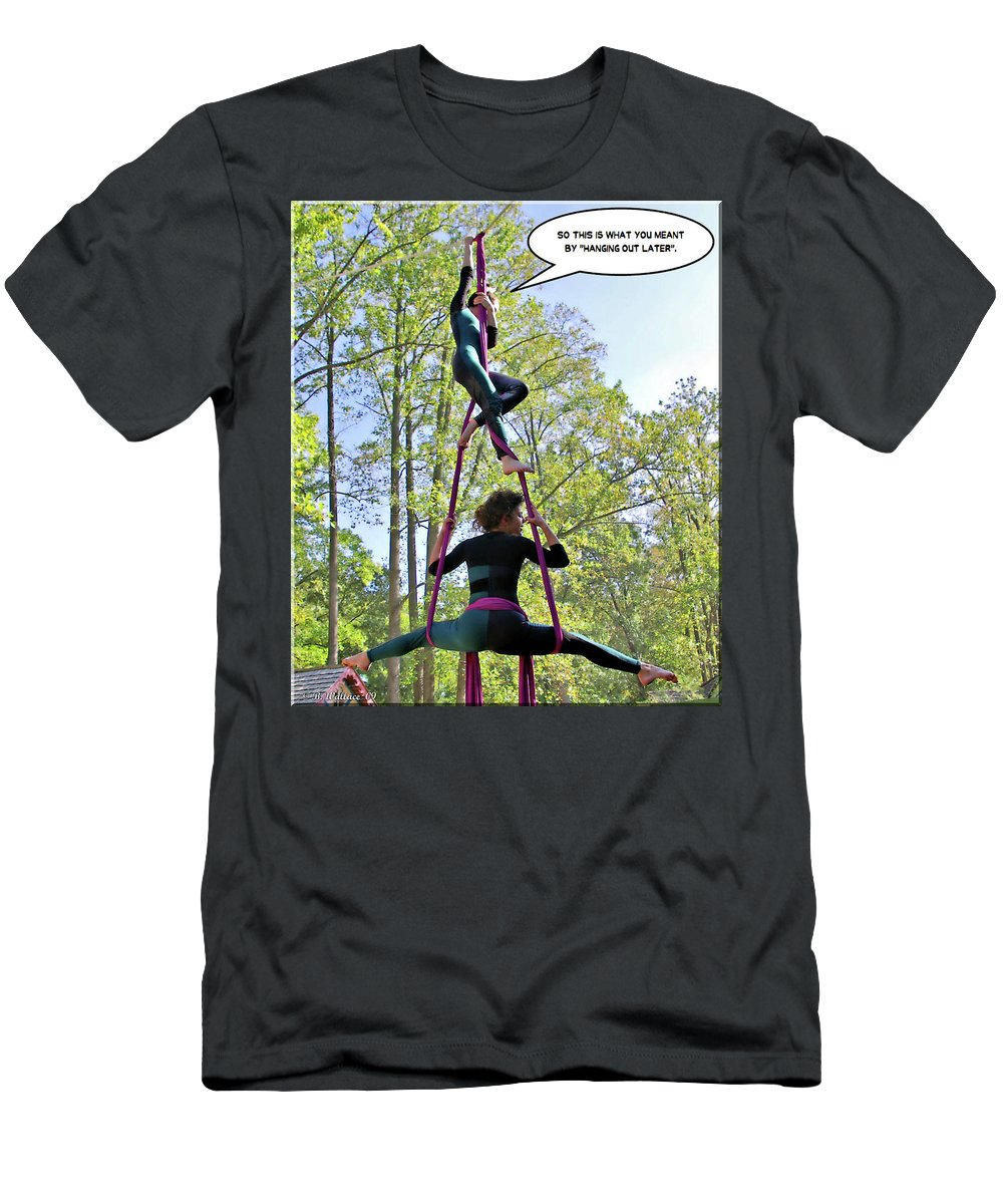 2d Men's T-Shirt (Athletic Fit) featuring the photograph Hanging Out by Brian Wallace