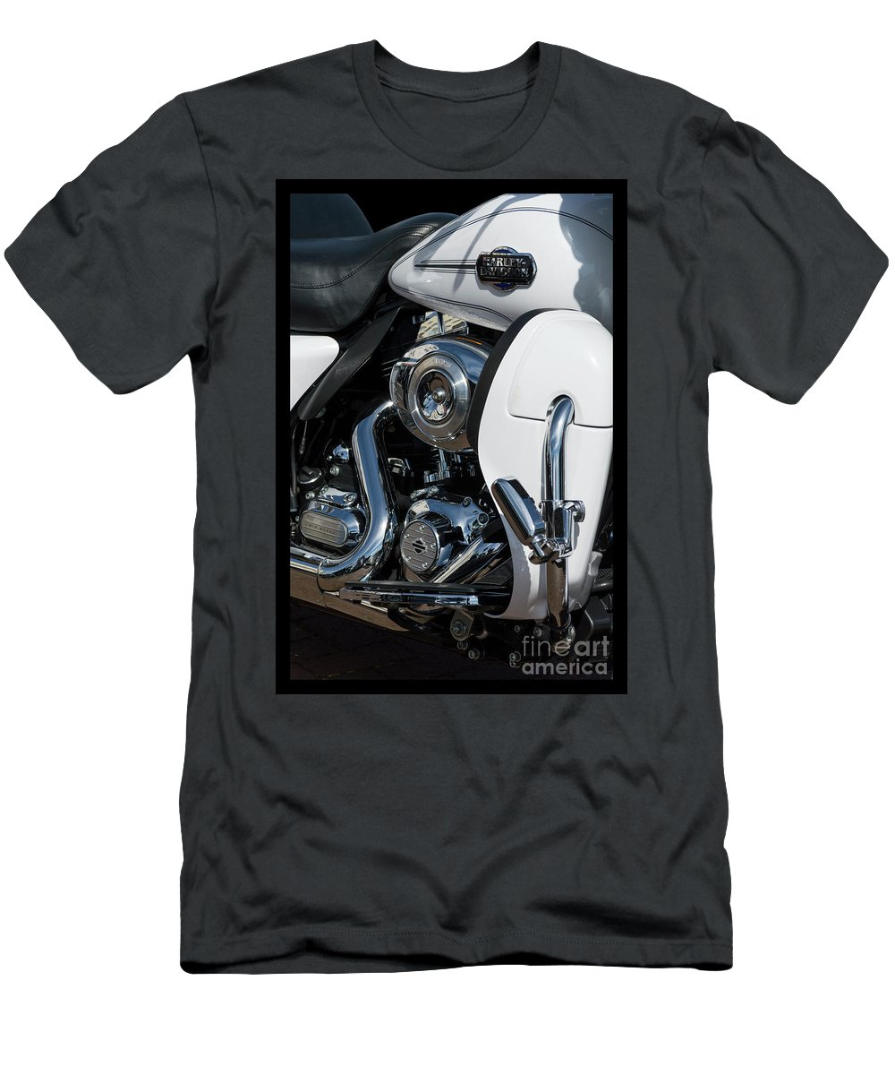 Wendy Men's T-Shirt (Athletic Fit) featuring the photograph Harley Davidson 15 by Wendy Wilton