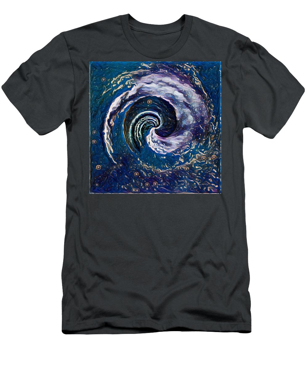 Hawaii Men's T-Shirt (Athletic Fit) featuring the photograph Hawaii Storm Not 6 by Diane Lindon Coy