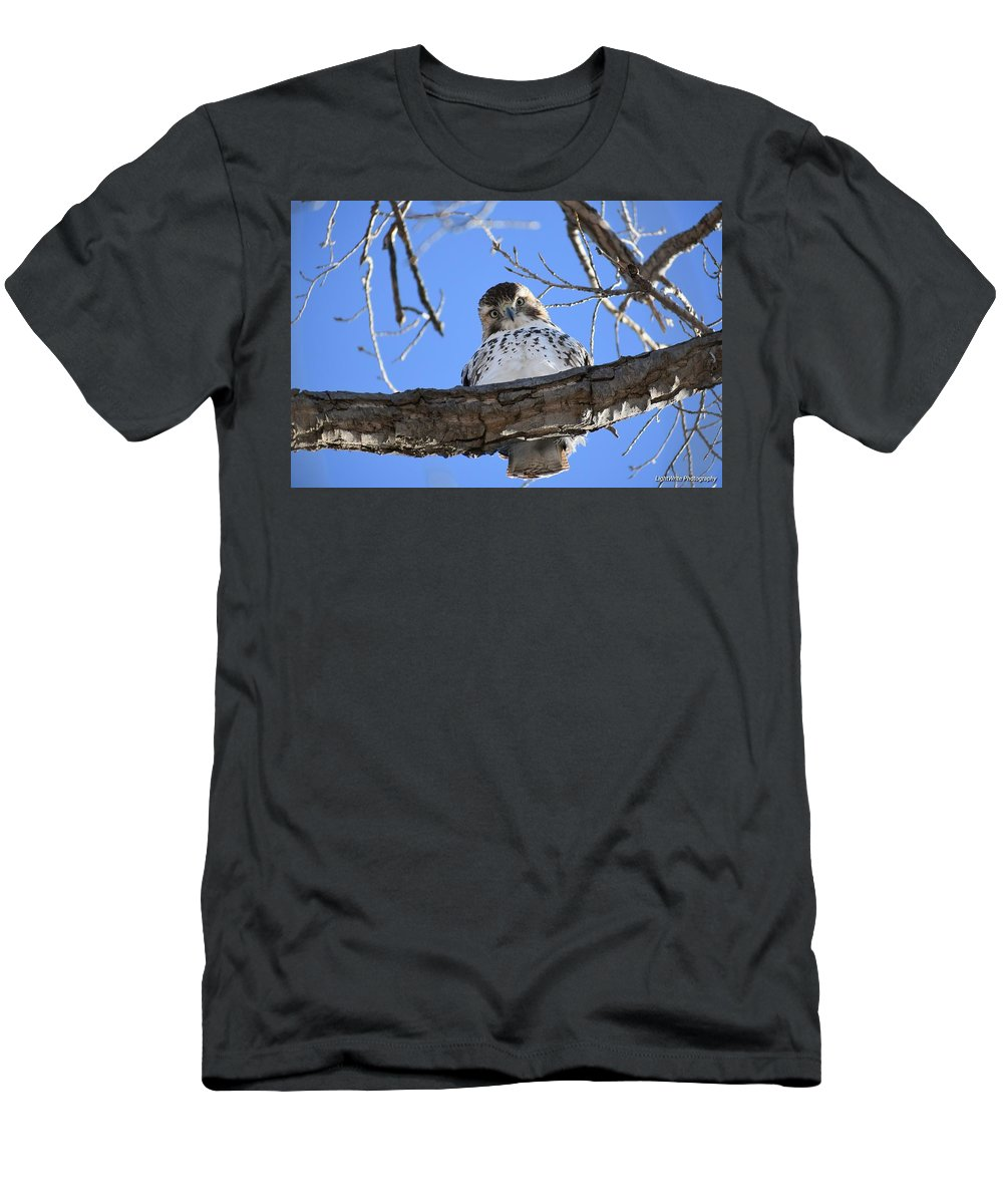 Men's T-Shirt (Athletic Fit) featuring the photograph Hello There by Ryan Humphrey