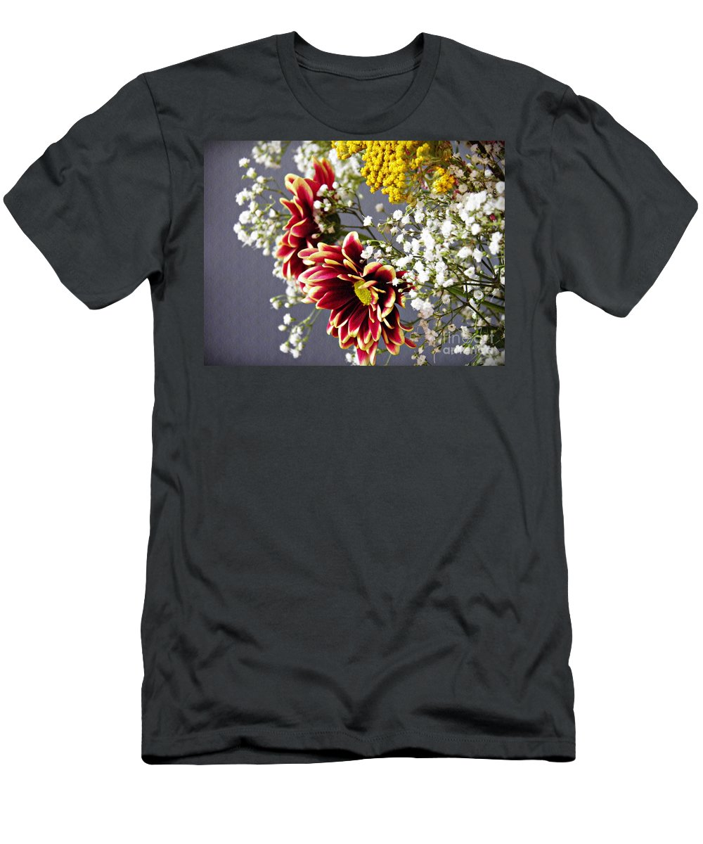 Bouquet Men's T-Shirt (Athletic Fit) featuring the photograph Holy Week Flowers 2017 5 by Sarah Loft