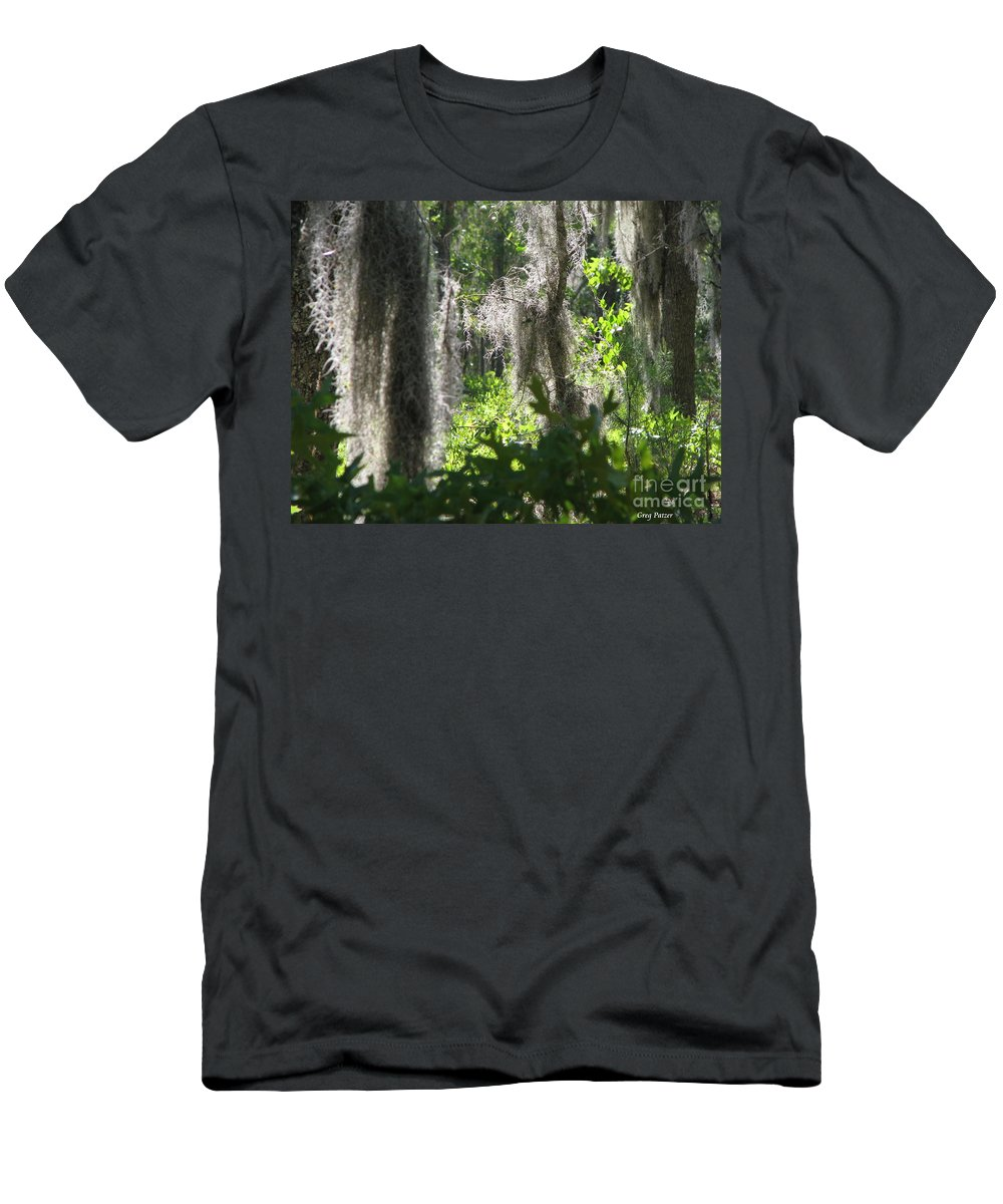 Florida Men's T-Shirt (Athletic Fit) featuring the photograph Home by Greg Patzer