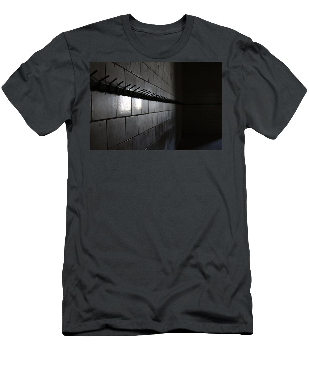 Digital Men's T-Shirt (Athletic Fit) featuring the photograph Hooked by Jeff Roney