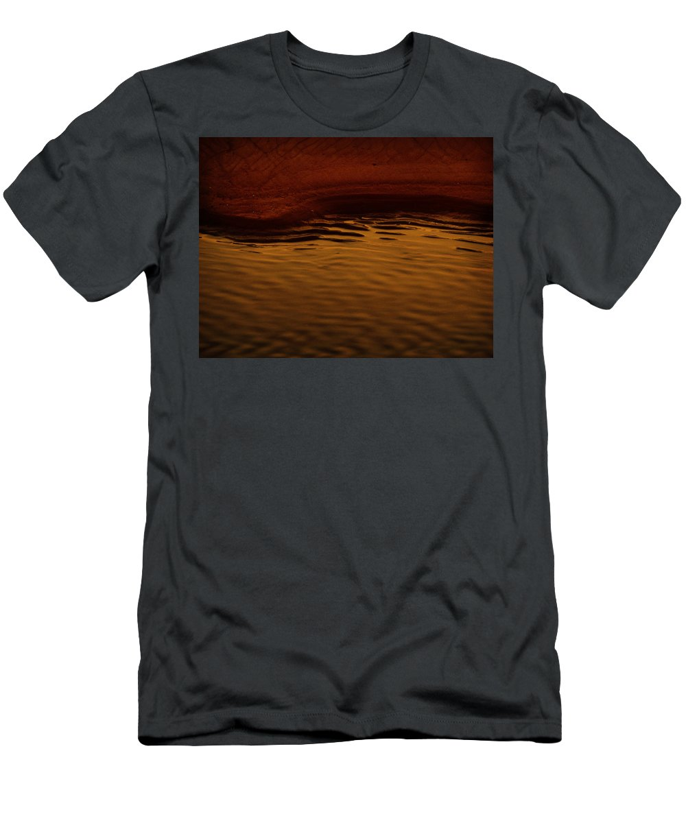 Abstract Men's T-Shirt (Athletic Fit) featuring the photograph I Want To Wake Up Where You Are by Dana DiPasquale