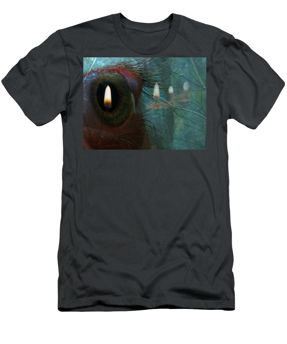 Lauren Radke Men's T-Shirt (Athletic Fit) featuring the photograph I Woke Up In A Dream Today by Lauren Radke