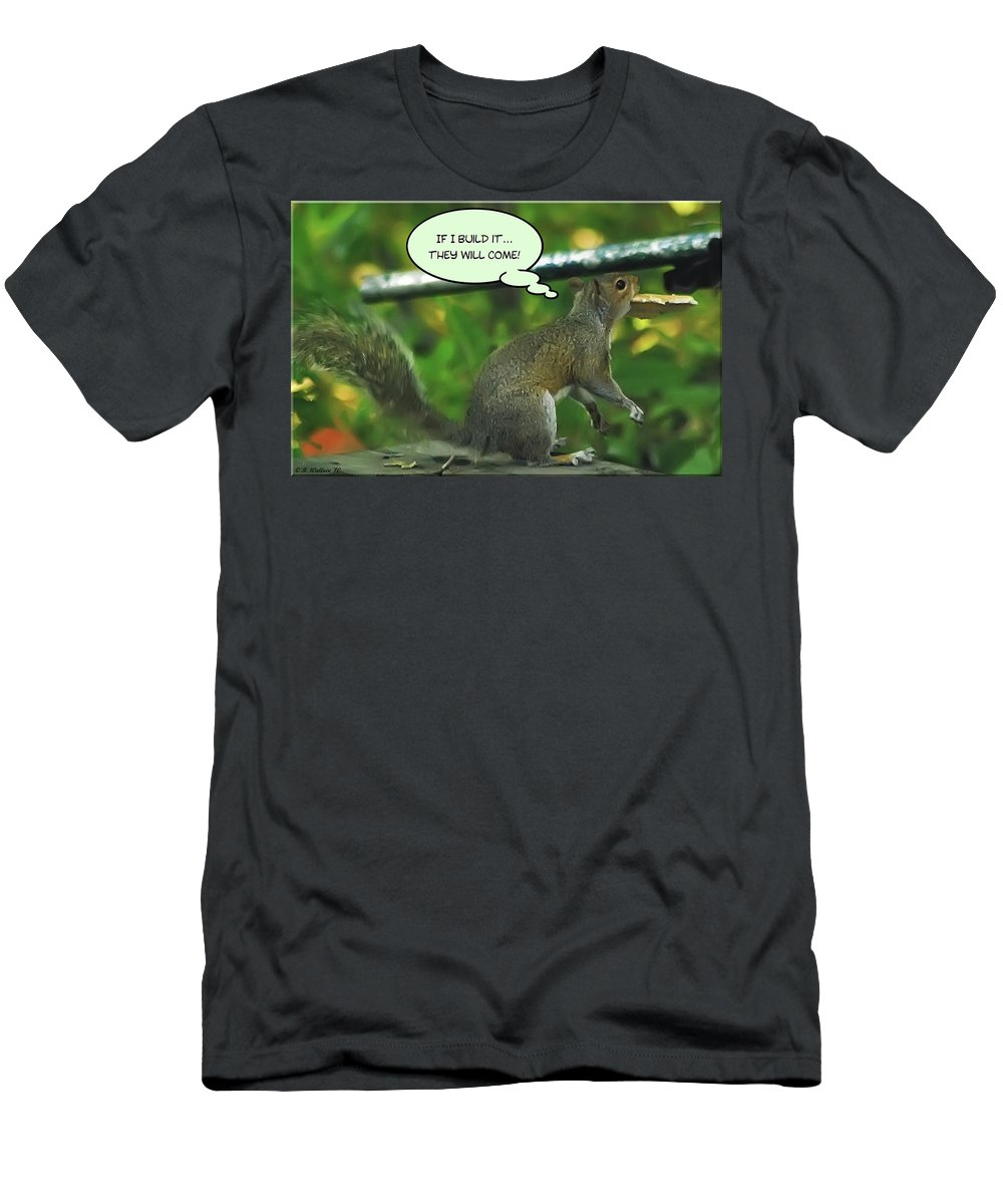 2d Men's T-Shirt (Athletic Fit) featuring the photograph If I Build It by Brian Wallace