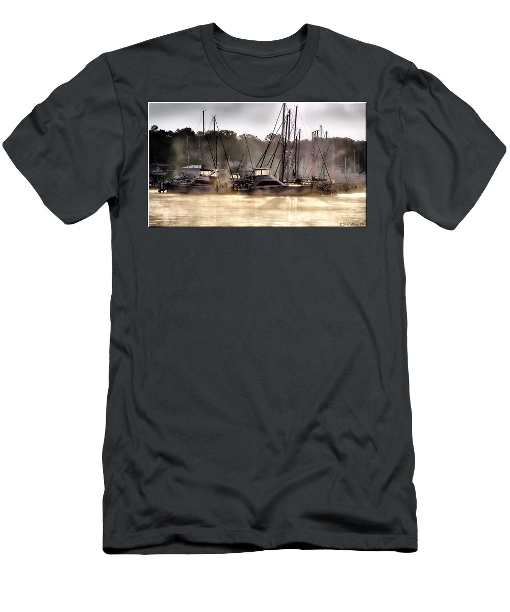 2d Men's T-Shirt (Athletic Fit) featuring the photograph Illuminating by Brian Wallace