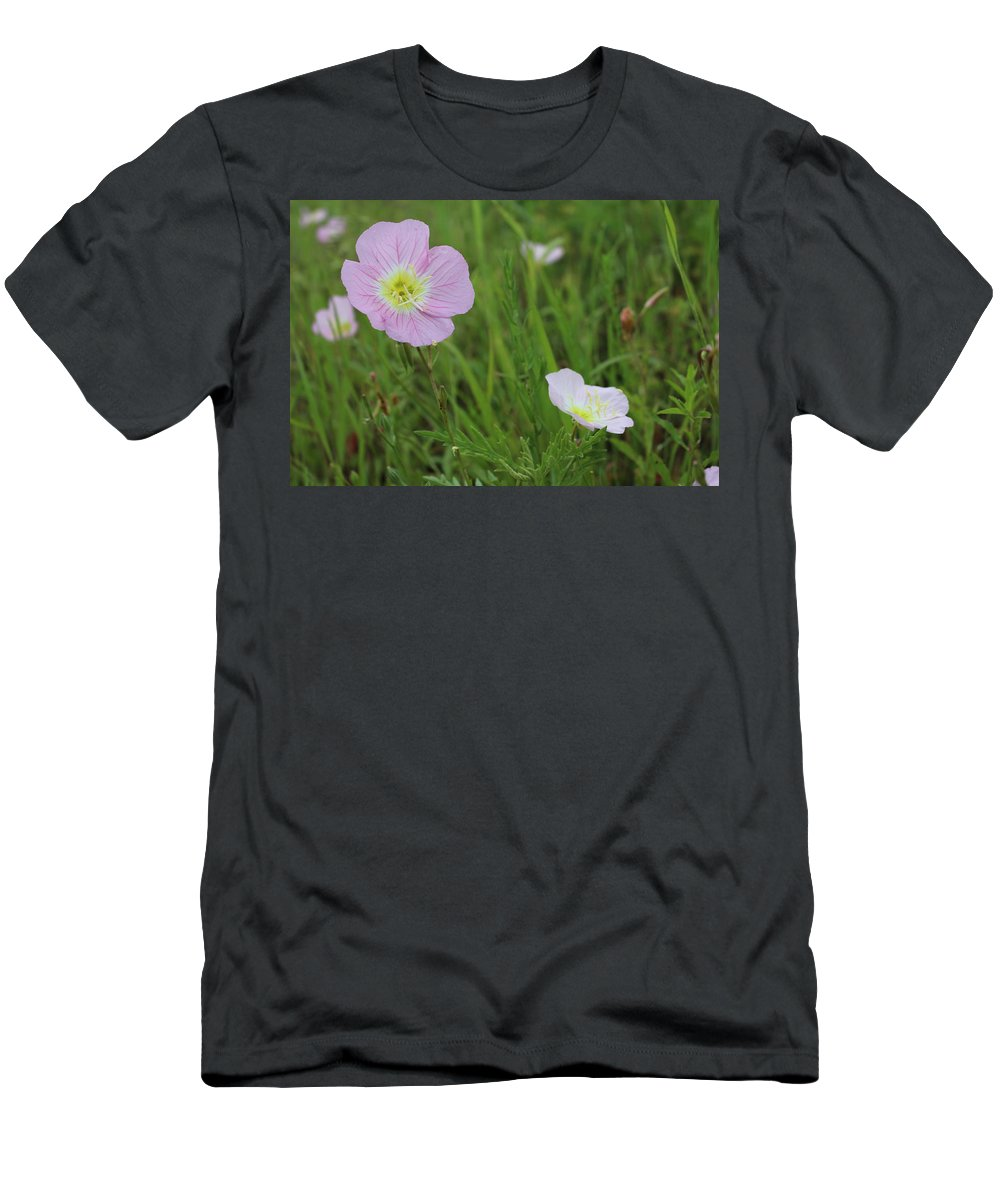 Purple Men's T-Shirt (Athletic Fit) featuring the photograph I'm Taller Than You by Brock Tinney