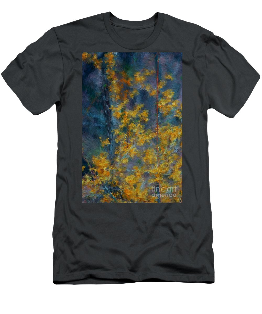 Men's T-Shirt (Athletic Fit) featuring the photograph In The Woods by David Lane